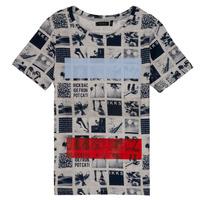 Kleidung Jungen T-Shirts Ikks YVES Beige