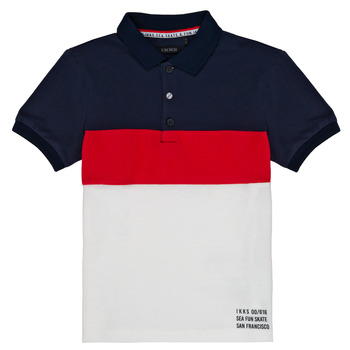 Kleidung Jungen Polohemden Ikks LORIE Weiss