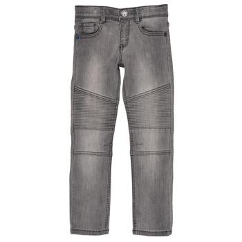 Kleidung Jungen Slim Fit Jeans Ikks COELE Grau
