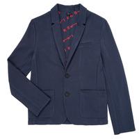 Kleidung Jungen Jacken / Blazers Ikks NARIA Marine