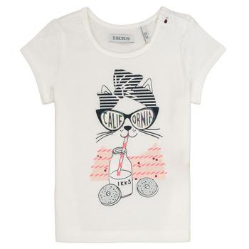 Kleidung Mädchen T-Shirts Ikks MEOLIA Weiss