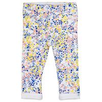 Kleidung Mädchen Leggings Ikks ELIES Weiss / Multicolor