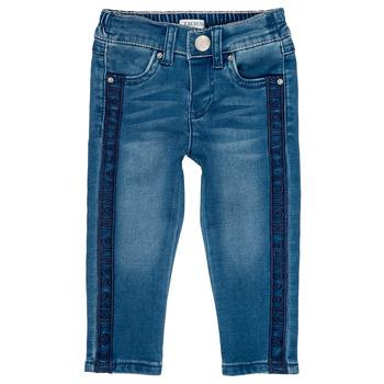 Kleidung Mädchen Slim Fit Jeans Ikks LUISIN Blau