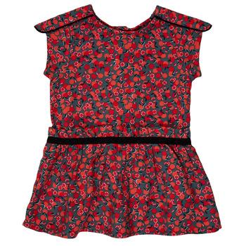 Kleidung Mädchen Kurze Kleider Ikks MAGGIE Grau / Rot