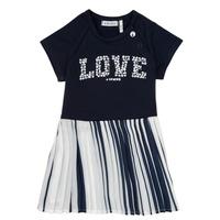 Kleidung Mädchen Kurze Kleider Ikks POELA Marine