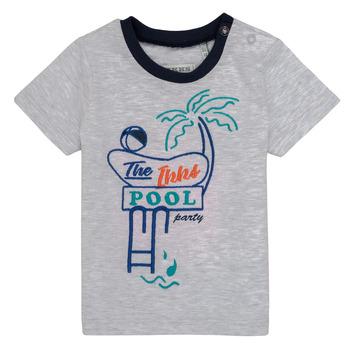 Kleidung Jungen T-Shirts Ikks LISIANA Grau