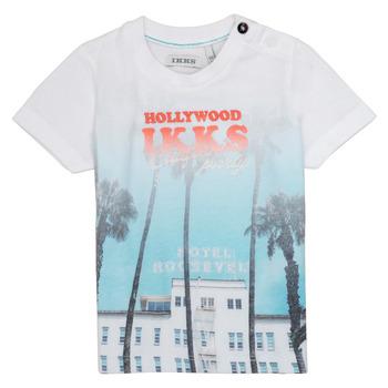 Kleidung Jungen T-Shirts Ikks JOSIANE Weiss