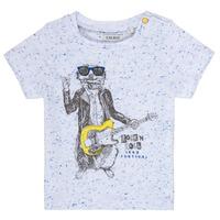 Kleidung Jungen T-Shirts Ikks MARIO Weiss