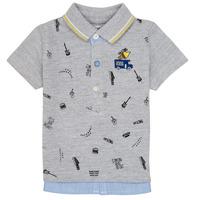 Kleidung Jungen Polohemden Ikks MAELYS Grau