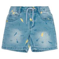 Kleidung Jungen Shorts / Bermudas Ikks PONERMO Blau