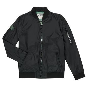 Kleidung Jungen Jacken Kaporal ELMO Schwarz