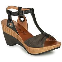 Schuhe Damen Sandalen / Sandaletten Chattawak JENNY Schwarz