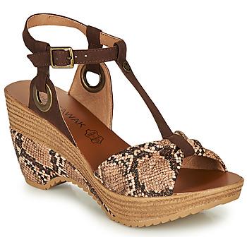 Schuhe Damen Sandalen / Sandaletten Chattawak JENNY Grau