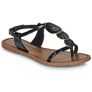 Schuhe Damen Sandalen / Sandaletten Chattawak PIPA Schwarz