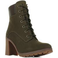 Schuhe Damen Low Boots Timberland 6-Inch Allington Lace Up Braun