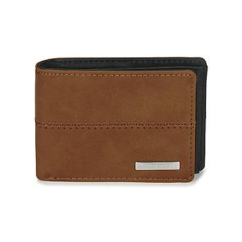 Taschen Herren Portemonnaie Quiksilver NEW STITCHY WALLET Braun