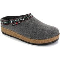 Schuhe Damen Hausschuhe Haflinger HF-FRANZL-ant-D GRIGIO
