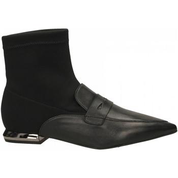 Schuhe Damen Low Boots Tosca Blu MARY c99-nero