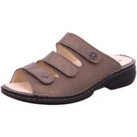Schuhe Damen Pantoffel Finn Comfort Pantoletten Menorca-S 82564-553390 gold