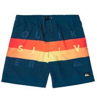 Kleidung Jungen Badeanzug /Badeshorts Quiksilver WORD BLOCK VOLLEY YOUTH Blau