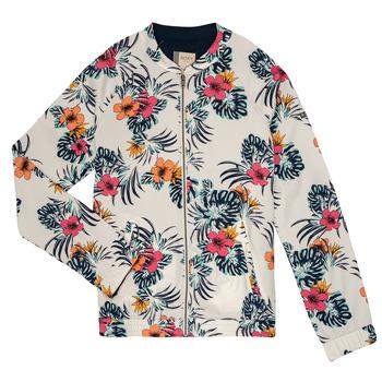 Kleidung Mädchen Jacken / Blazers Roxy LIKE I DO Multifarben