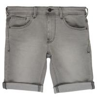 Kleidung Jungen Shorts / Bermudas Teddy Smith SCOTTY 3 Grau