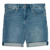 Kleidung Jungen Shorts / Bermudas Teddy Smith SCOTTY 3 Blau