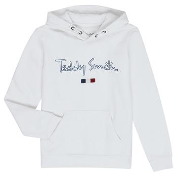 Kleidung Jungen Sweatshirts Teddy Smith SEVEN Weiss