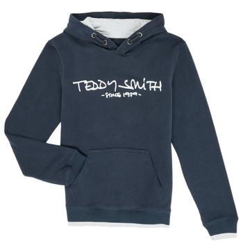 Kleidung Jungen Sweatshirts Teddy Smith SICLASS Blau