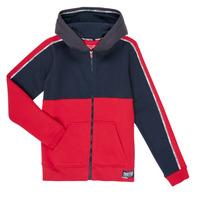 Kleidung Jungen Sweatshirts Teddy Smith AMY Rot / Marine