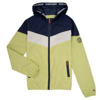 Kleidung Jungen Jacken Teddy Smith SNIL Marine / Weiss / Grün