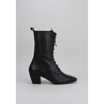 Schuhe Damen Low Boots Krack  Schwarz
