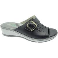 Schuhe Damen Pantoffel Florance FL22530bl blu