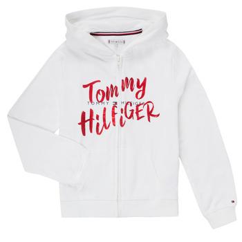 Kleidung Mädchen Sweatshirts Tommy Hilfiger KG0KG05043 Weiss