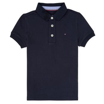 Kleidung Jungen Polohemden Tommy Hilfiger KB0KB03975 Marine