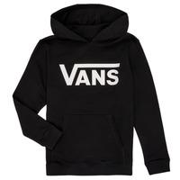 Kleidung Jungen Sweatshirts Vans BY VANS CLASSIC HOODIE Schwarz