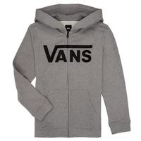 Kleidung Jungen Sweatshirts Vans BY VANS CLASSIC ZIP HOODIE Grau