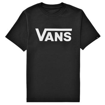 Kleidung Kinder T-Shirts Vans BY VANS CLASSIC Schwarz