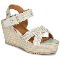 Schuhe Damen Sandalen / Sandaletten Refresh LILIOU Beige