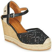 Schuhe Damen Sandalen / Sandaletten Refresh LARENA Schwarz