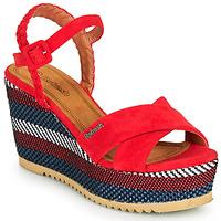 Schuhe Damen Sandalen / Sandaletten Refresh LOCKAL Rot