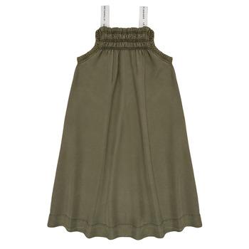 Kleidung Mädchen Kurze Kleider Le Temps des Cerises BIJA Kaki