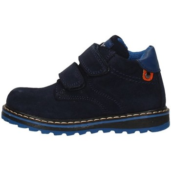 Schuhe Mädchen Ankle Boots Asso AG-4351 Blau
