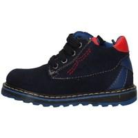 Schuhe Mädchen Ankle Boots Asso AG-4350 Blau