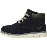 Schuhe Mädchen Ankle Boots Asso AG-4252 BLUE