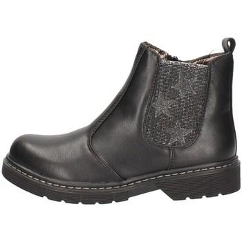 Schuhe Mädchen Ankle Boots Asso AG-3701 BLACK