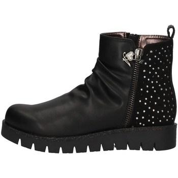Schuhe Mädchen Ankle Boots Asso AG-4401 BLACK
