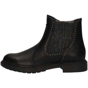 Schuhe Mädchen Ankle Boots Asso AG-3407 BLACK