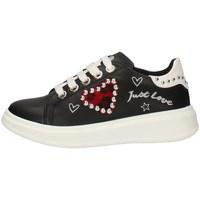 Schuhe Mädchen Sneaker Low Asso AG-3316 BLACK