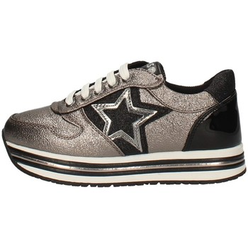 Schuhe Mädchen Sneaker Low Asso AG-3250 Grau